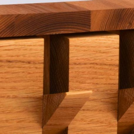 Drveni čiviluk za zid